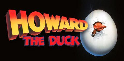 Howard The Duck 1986 black logo
