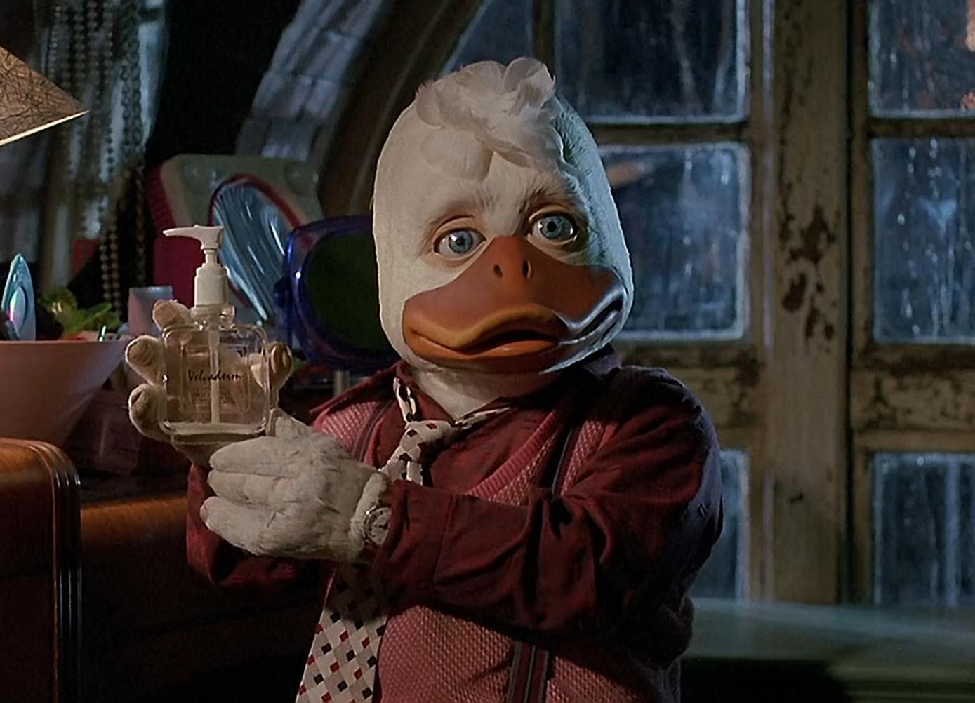 Howard The Duck 1986 scene parfum