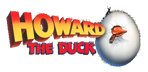 Howard The Duck 1986 transparent logo