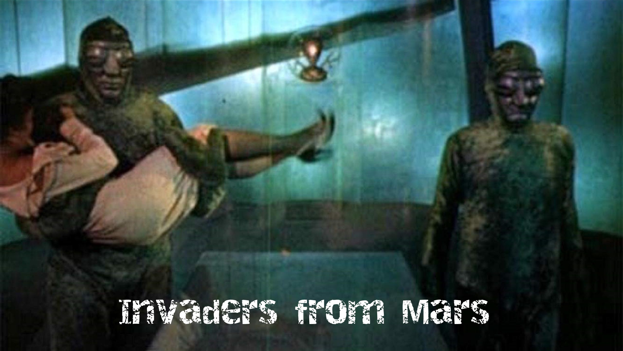 Invaders from Mars (1953) aliens