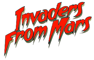 Invaders from Mars (remake 1986) logo transparent