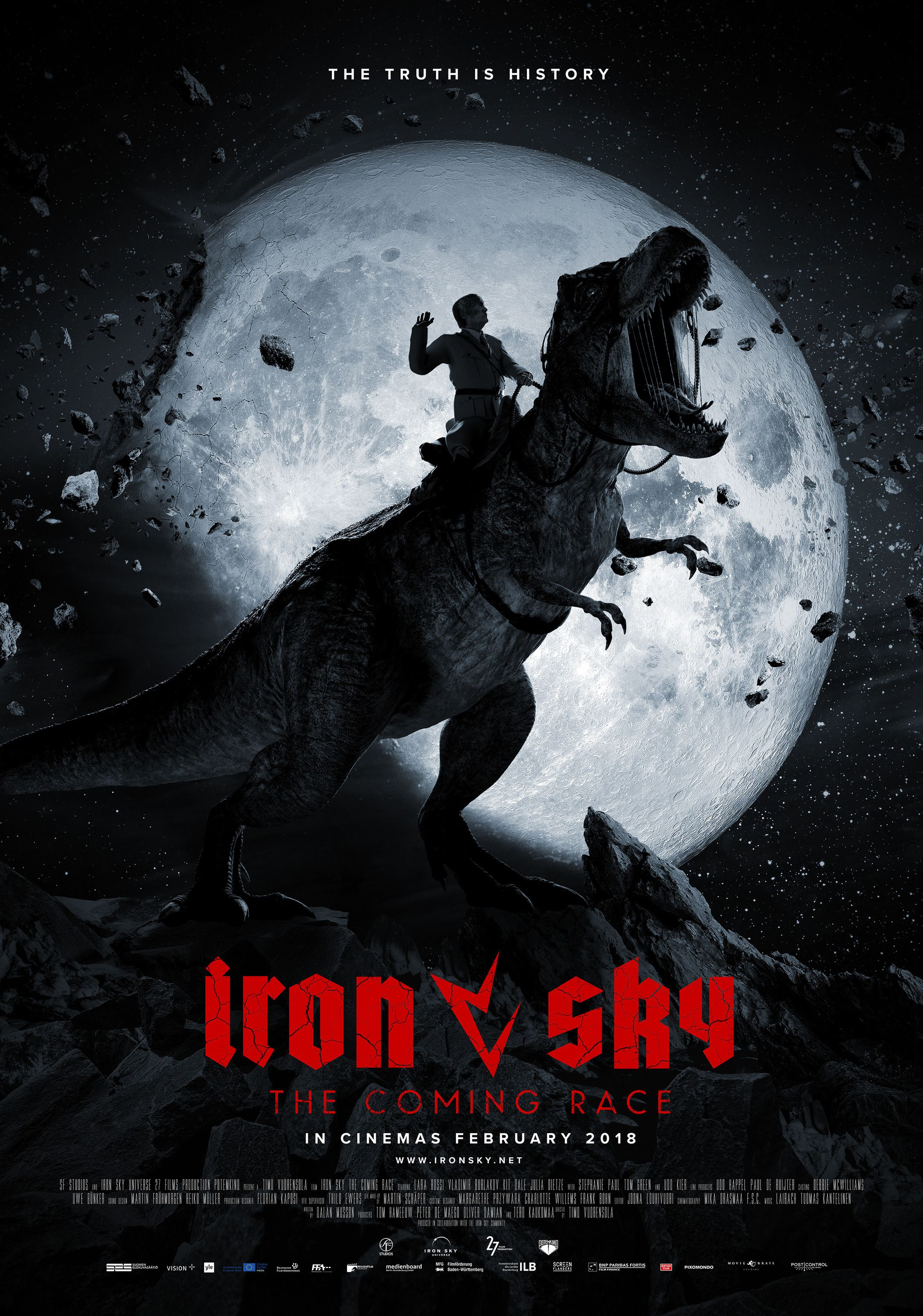 Iron Sky the Coming Race 2019 TRex  Moon