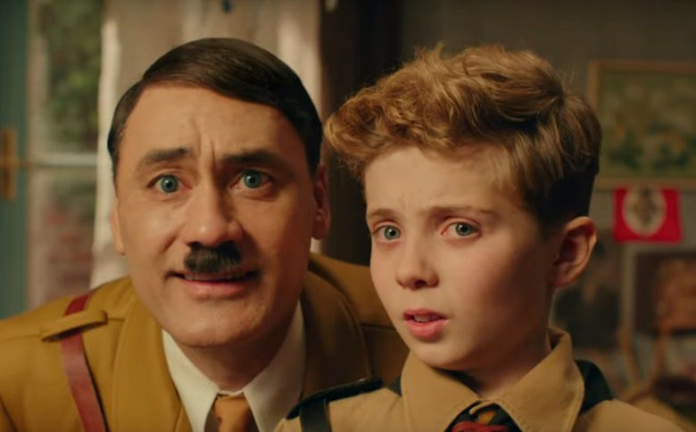 JoJo Rabbit 2019 Adolf father and little son