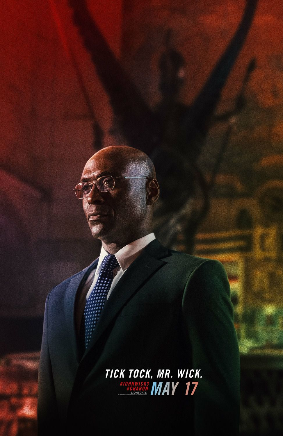 Lance Reddick as Charon