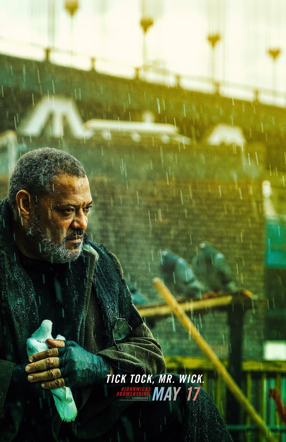 Laurence Fishburne as Bowery King