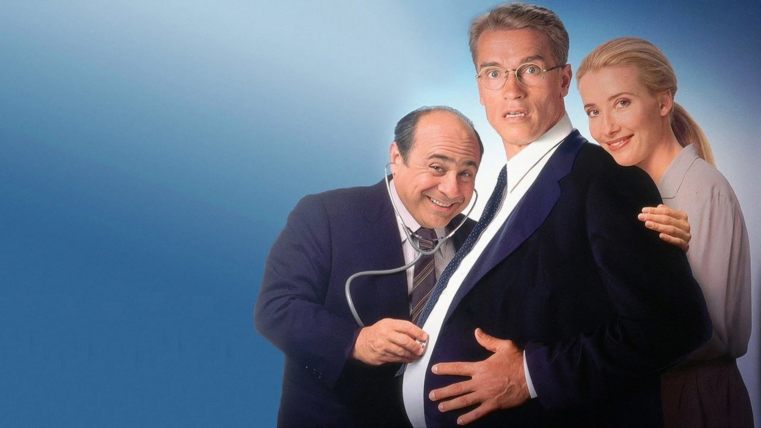 Junior (1994) with Arnold Schwarzenegger, Danny DeVito & Emma Thompson