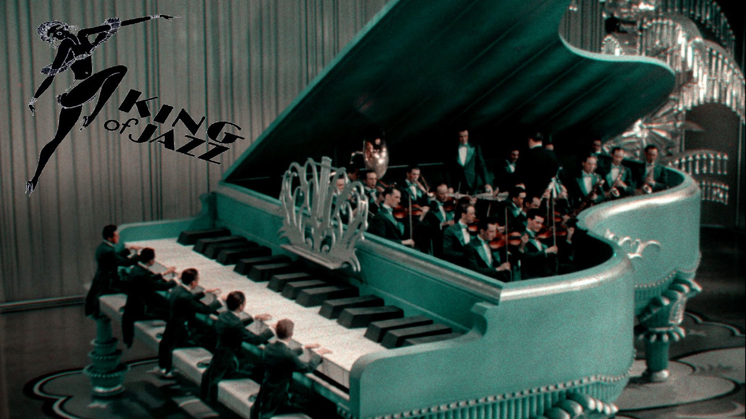 King of Jazz - Il Re del Jazz (1930) Great piano scene set with orchestra