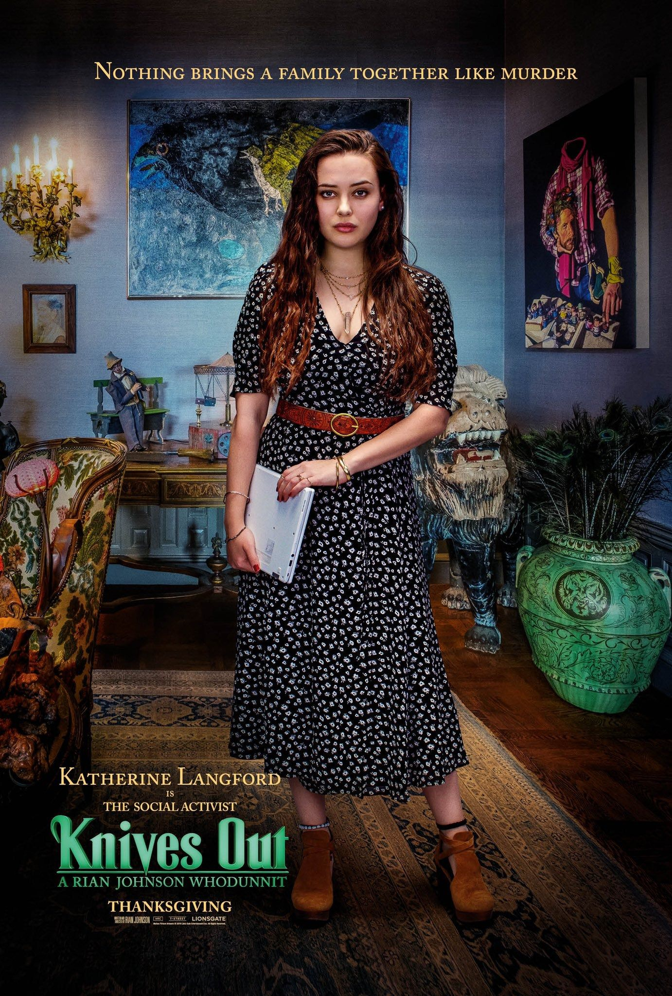 Katherine Langford is the Social Activist