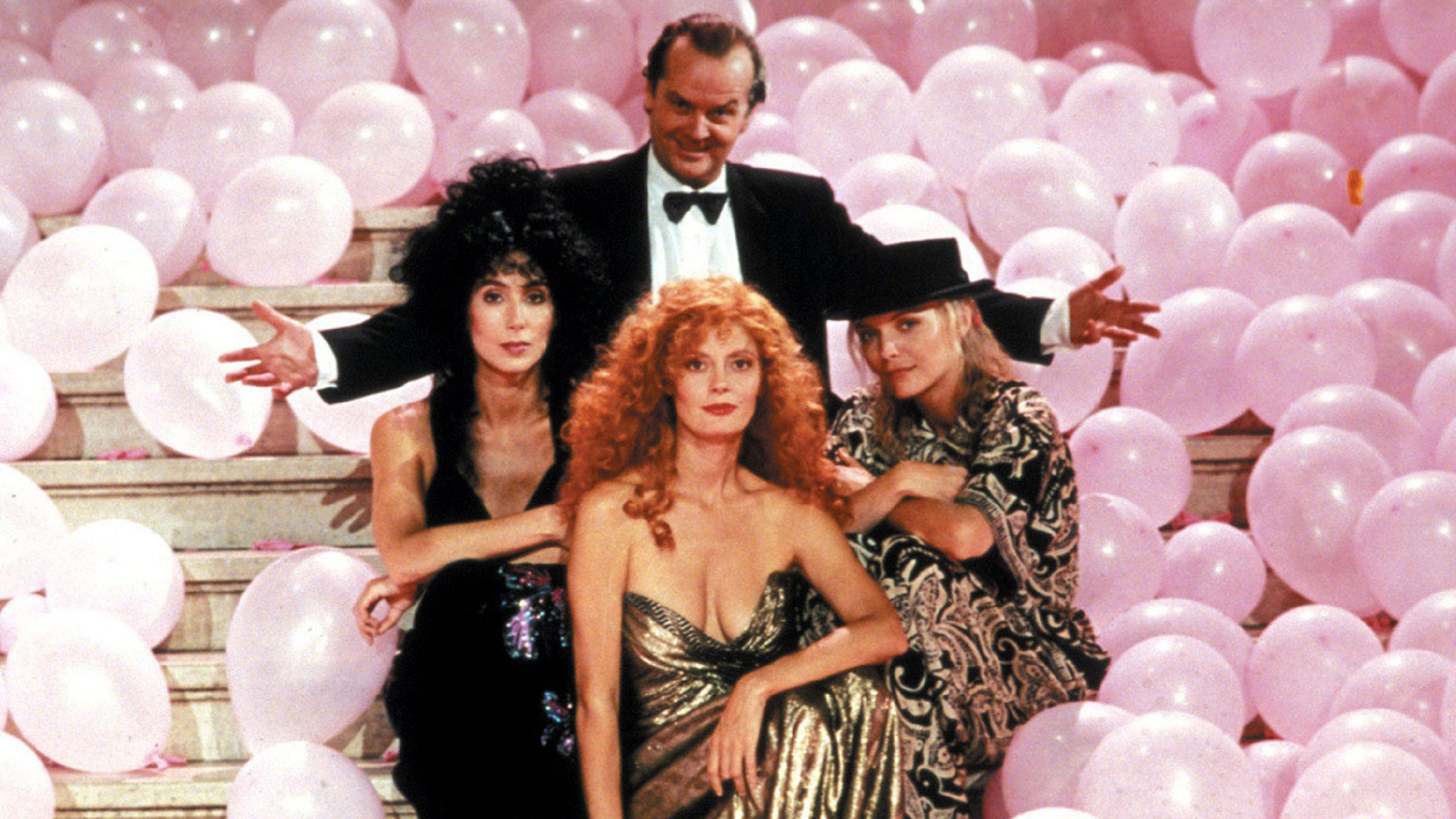 Le Streghe di Eastwick - Witches of Eastwick (1987) pink balloons