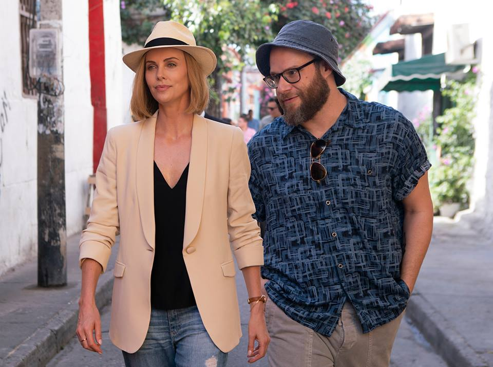 Long Shot (2019) - Charlize Theron and Seth Rogen