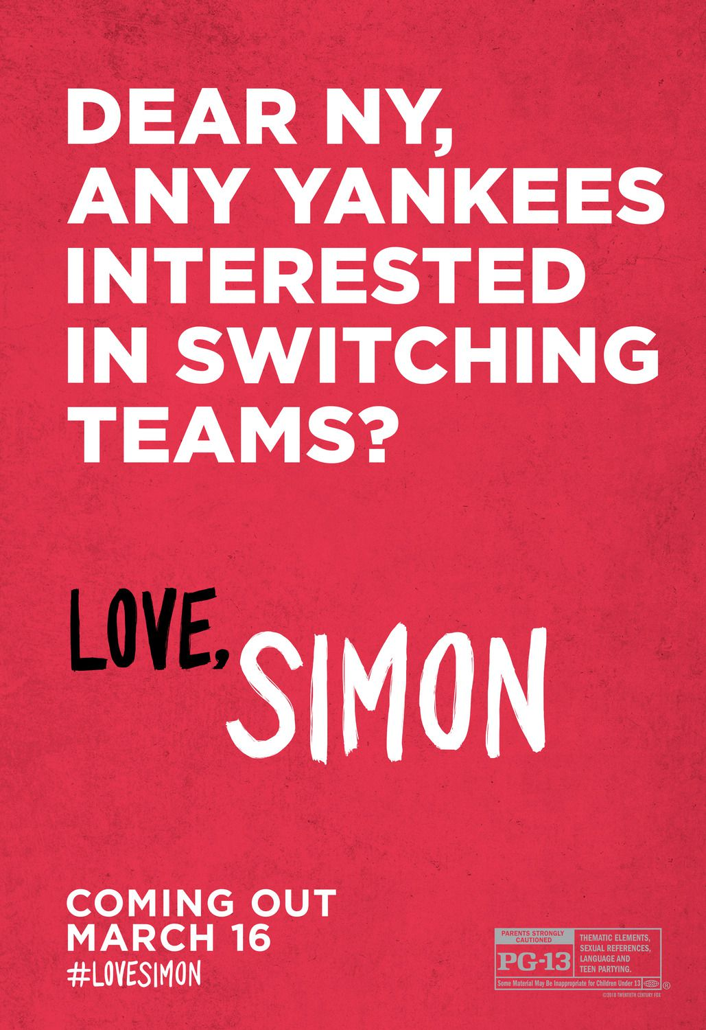 Dear NY any yankees interested in switching teams