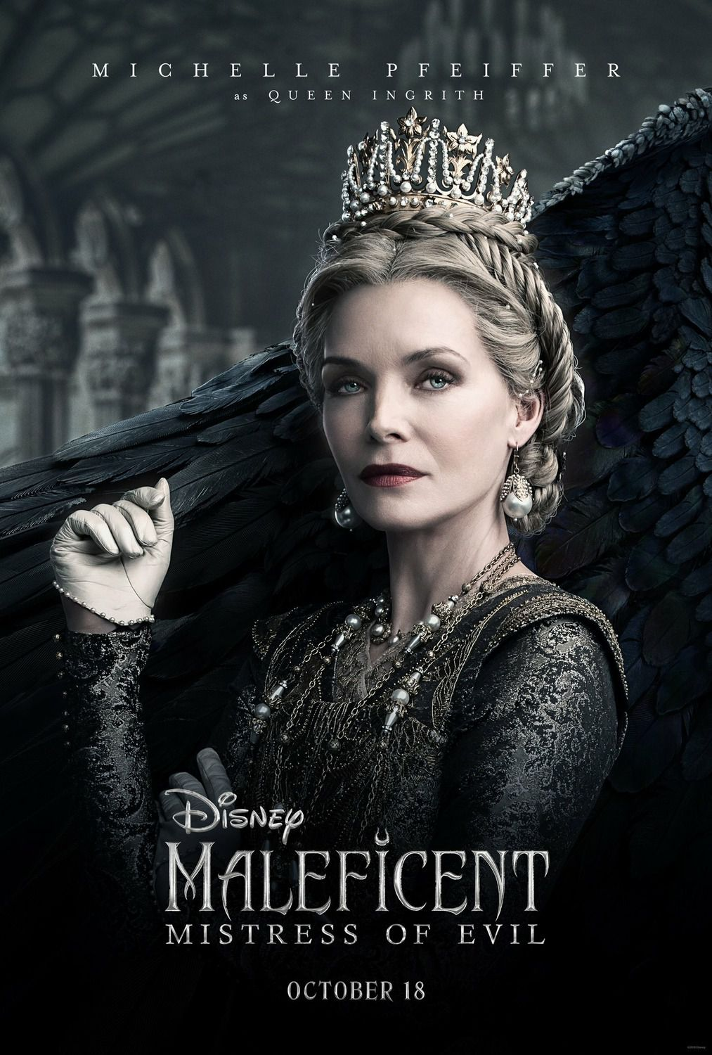 Maleficent 2 Mistress of Evil (2019) Michelle Pfeiffer as the Queen