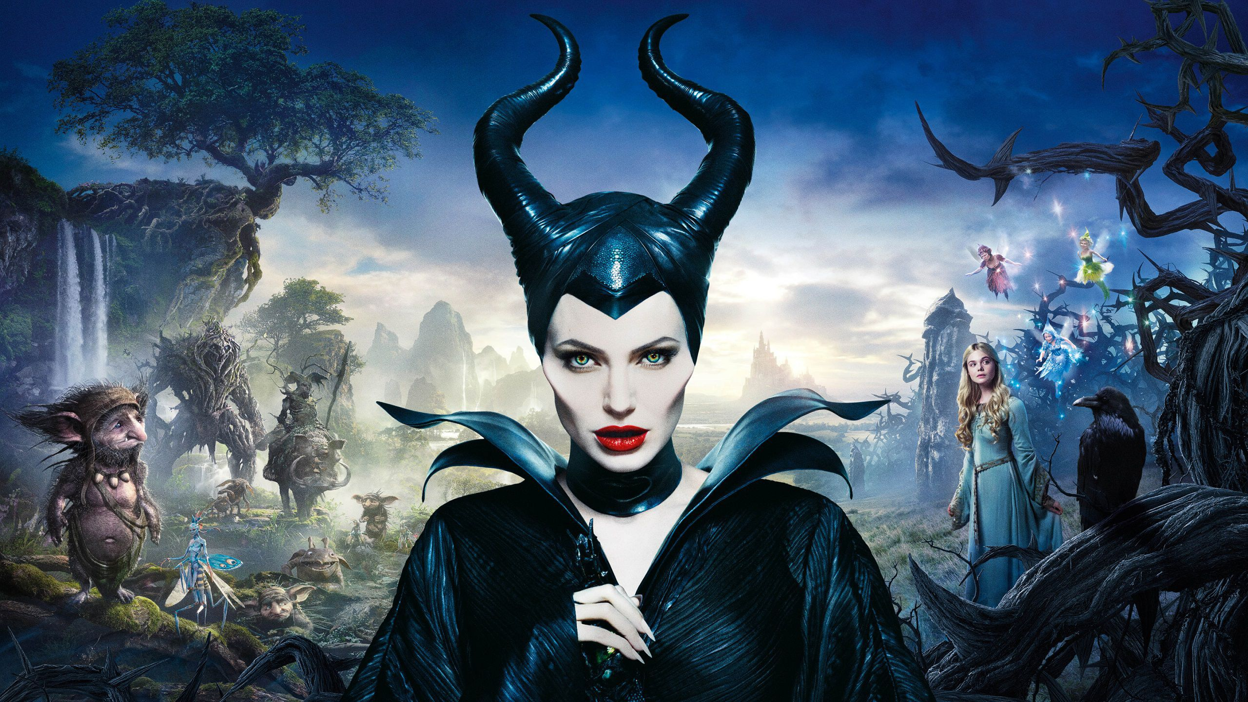 Maleficent wallpaper and Poster