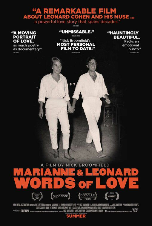 Marianne and Leonard Words of Love (2019)