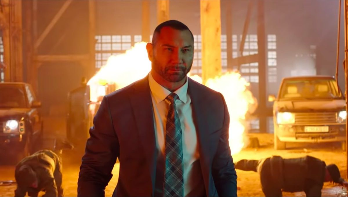 My Spy 2019 Live Action Spy Adventure with Dave Bautista - fire scene