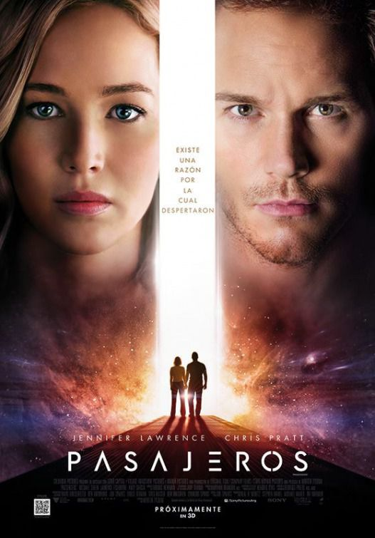 Passengers 2016 Chris Pratt & Jennifer Lawrence