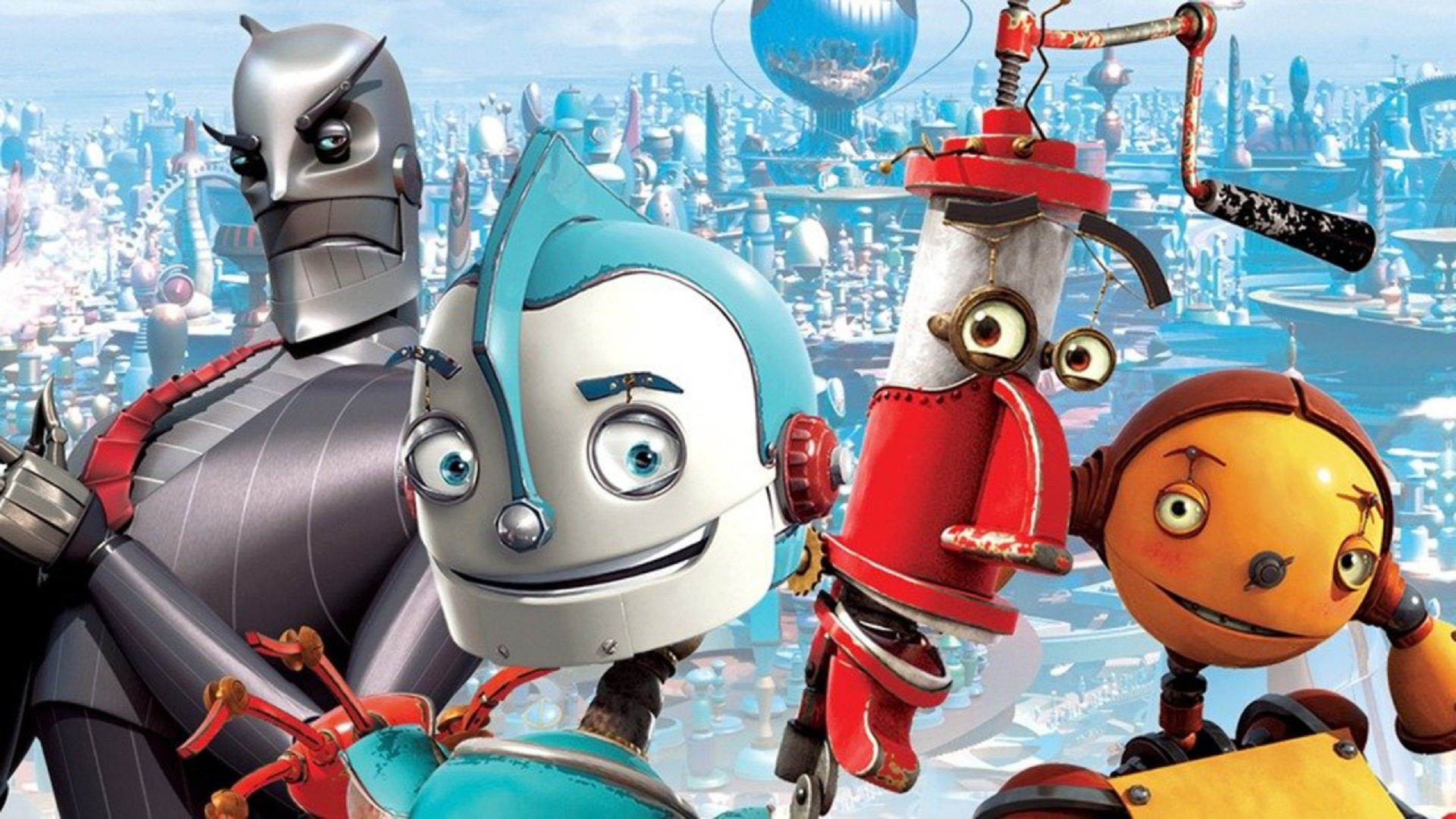 Robots (2005) characters