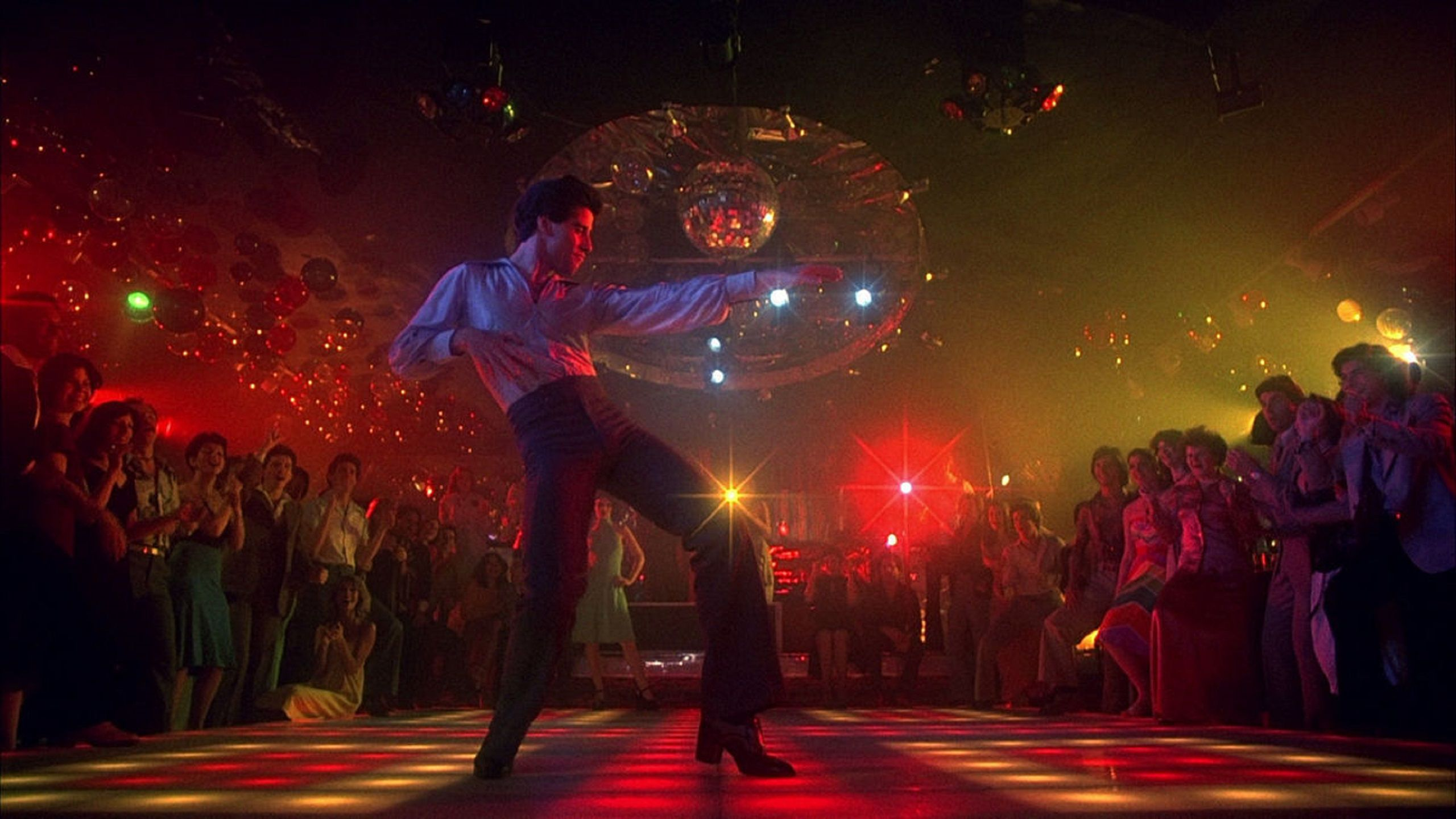 Saturday Night Fever 1977 John Travolta dancing