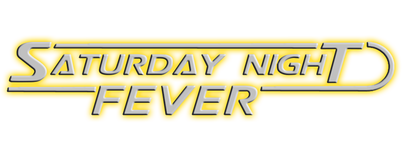 Saturday Night Fever 1977 logo transparent