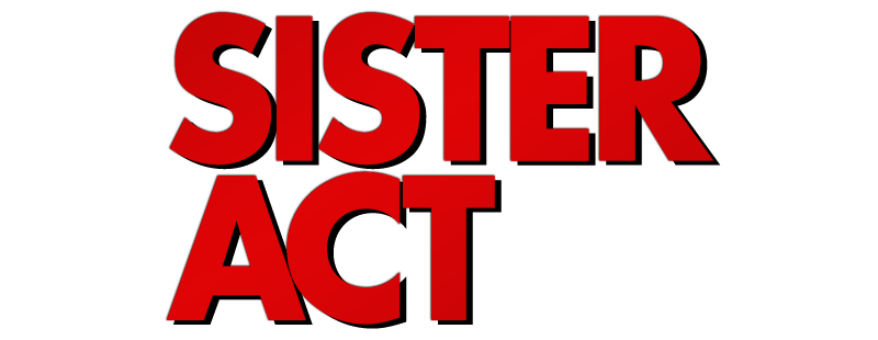 Sister Act (1992) logo transparent