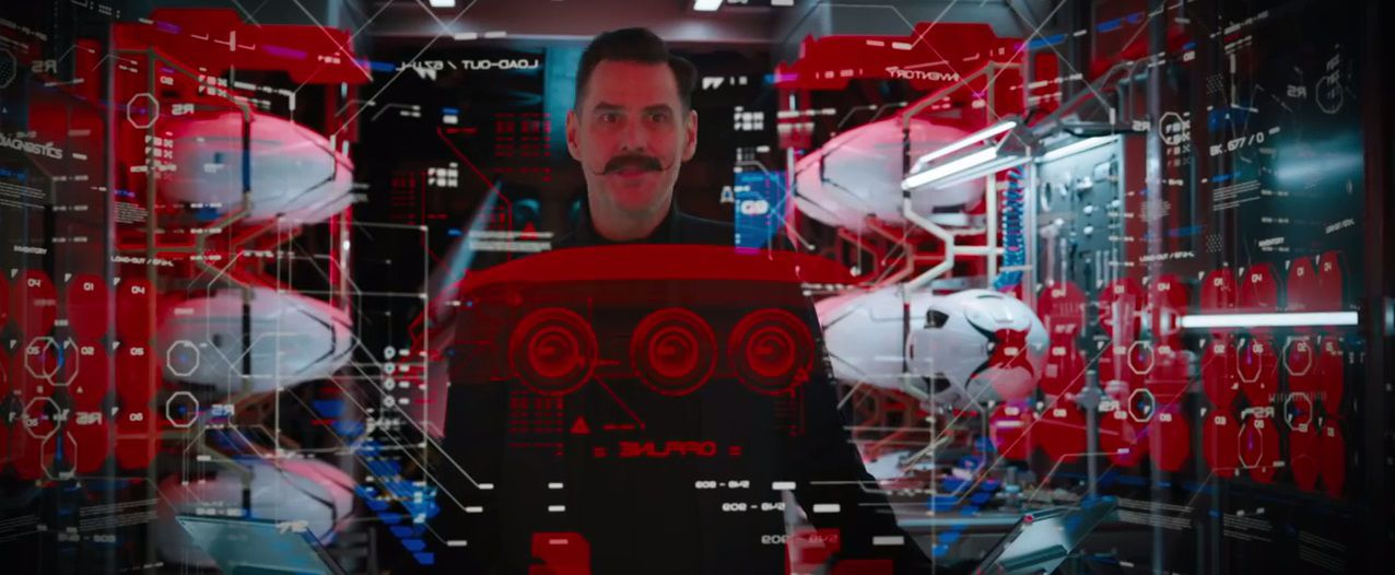 Sonic The Hedgehog 2019 Jim Carrey as Dr Ivo Robotnik