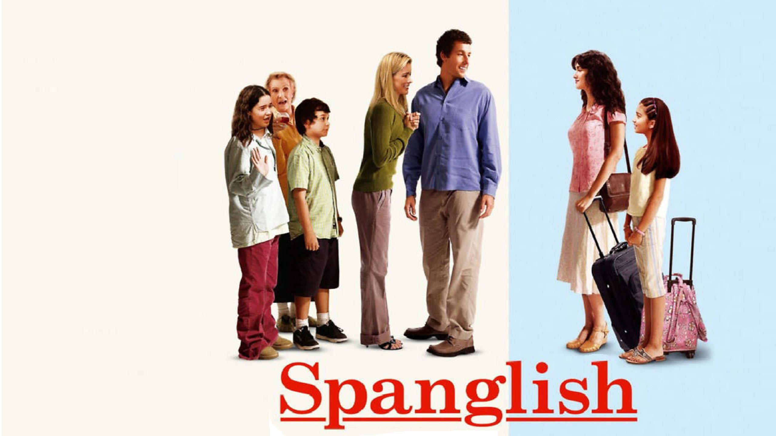 Spanglish (2004) wallpaper poster