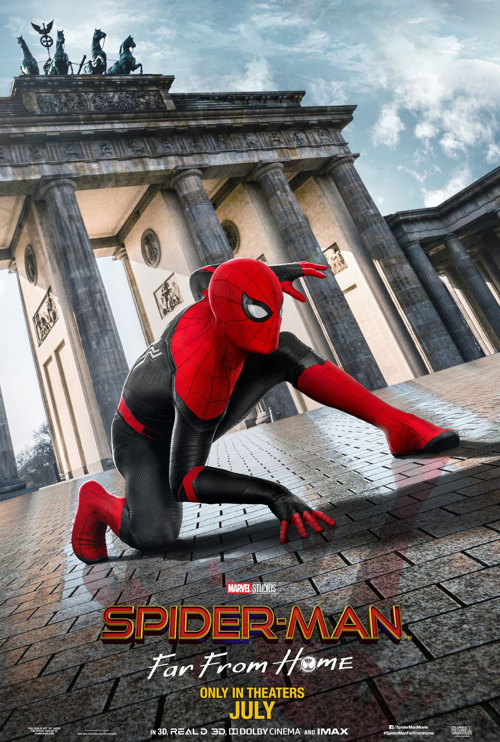 Spiderman far from Home (2019) poster Berlin