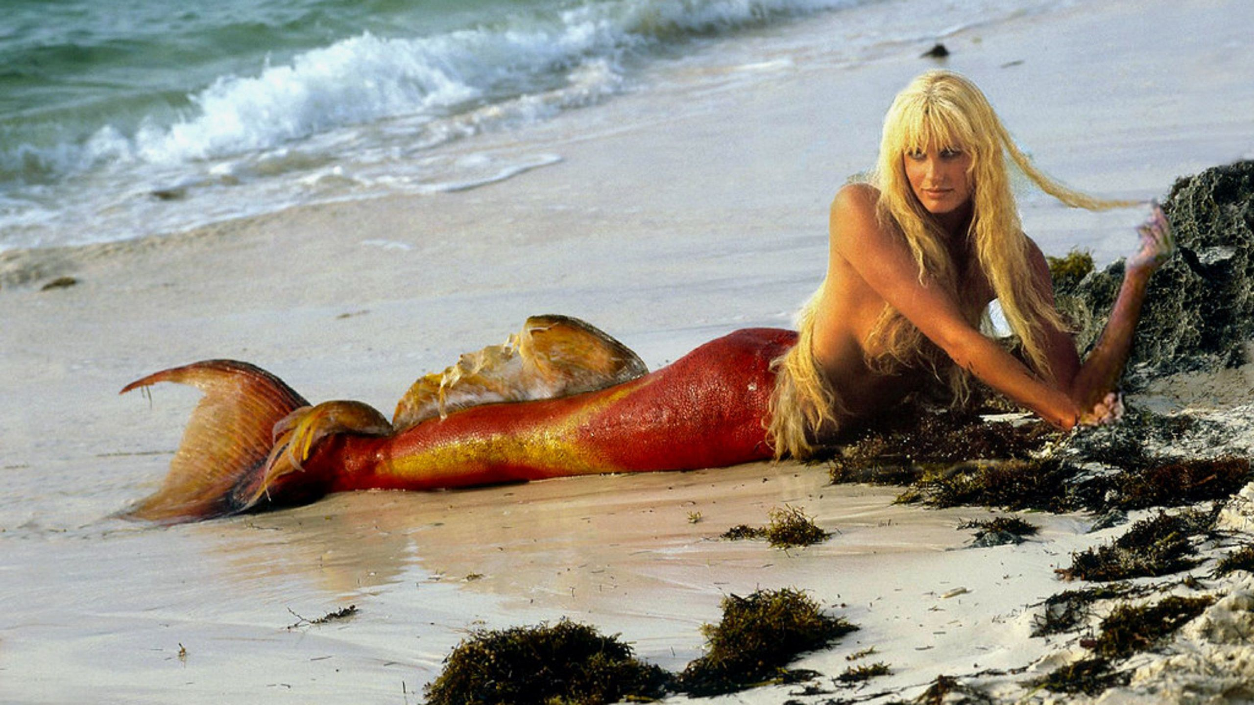 Splash - una Sirena a Manhattan (1984) Syren on beach - Daryl Hannah