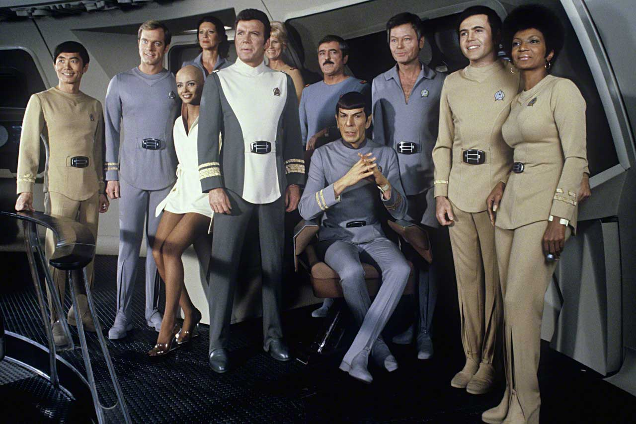 Star Trek 1 - il Film - the motion picture (1979) cast and characters