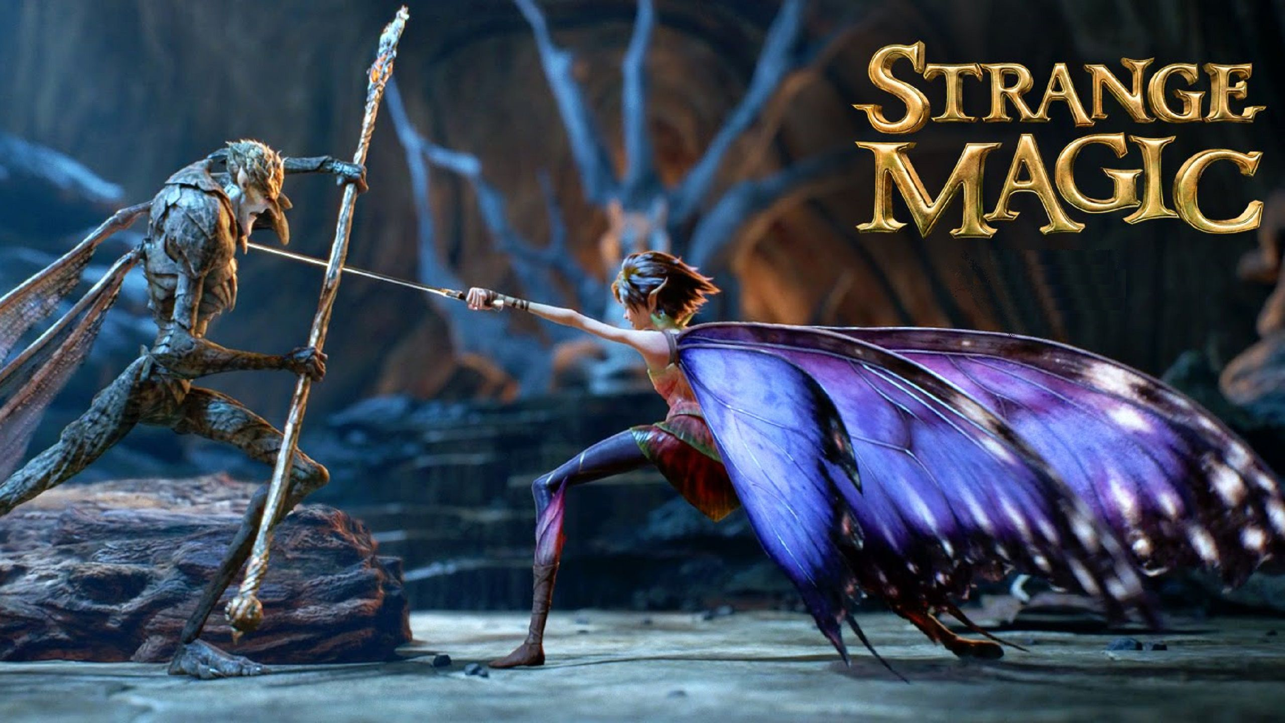 Strange Magic 2015 love lovely musical animated cartoon for kids