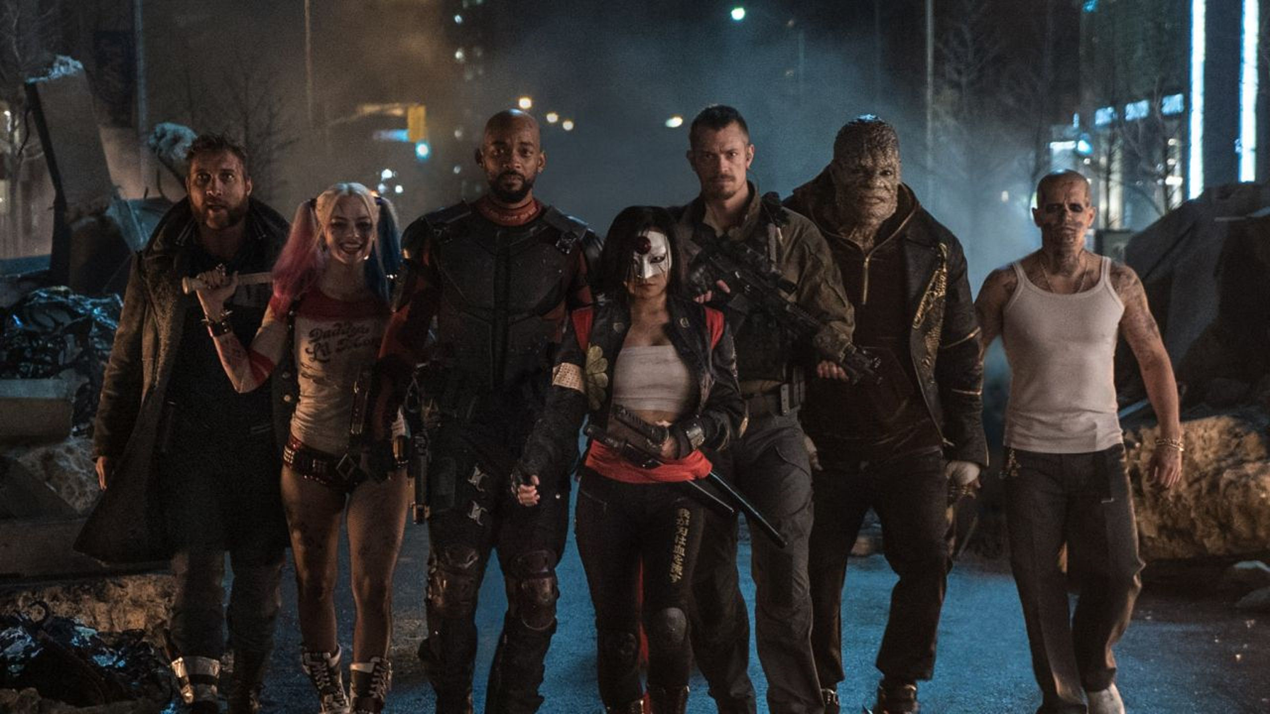 Suicide Squad - Will Smith, Jared Leto, Margot Robbie, Joel Kinman, Viola Davis