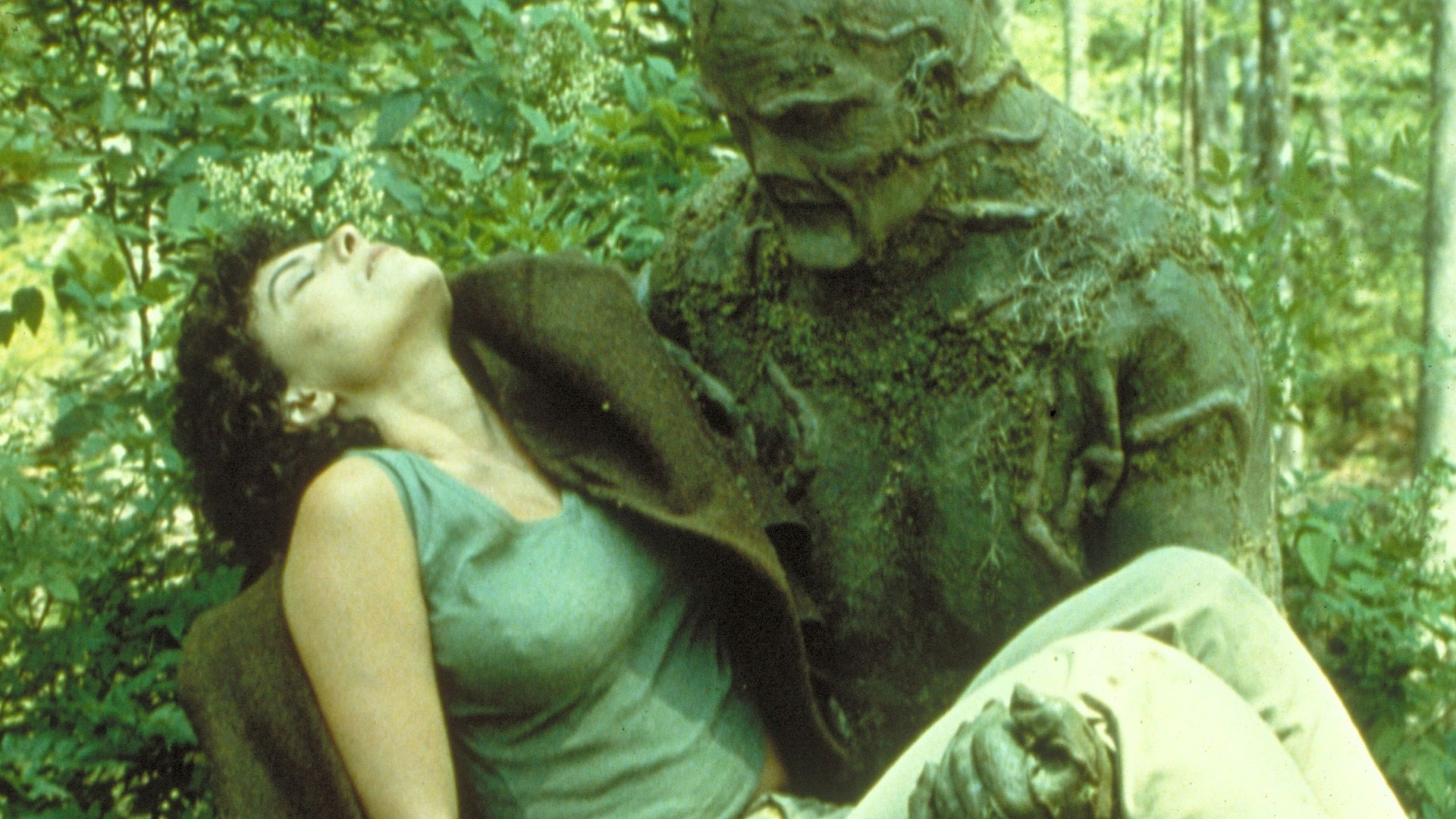 Swamp Thing Classic Live Action Movie - scene encounter