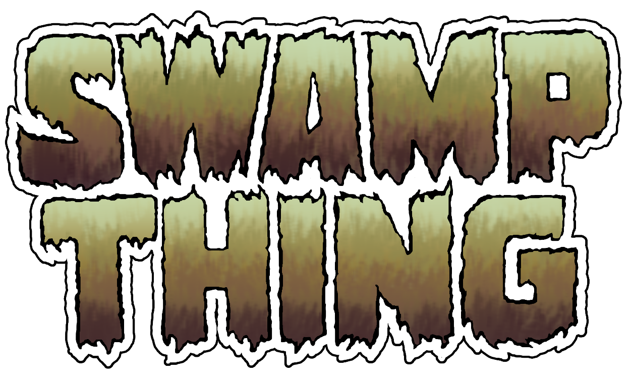 Swamp Thing live action classic movie logo transparent