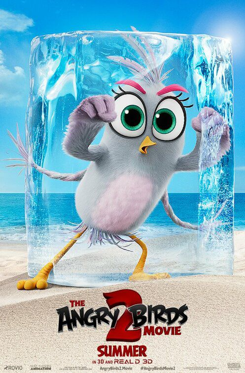 The Angry Birds 2 2019) big eyes bird