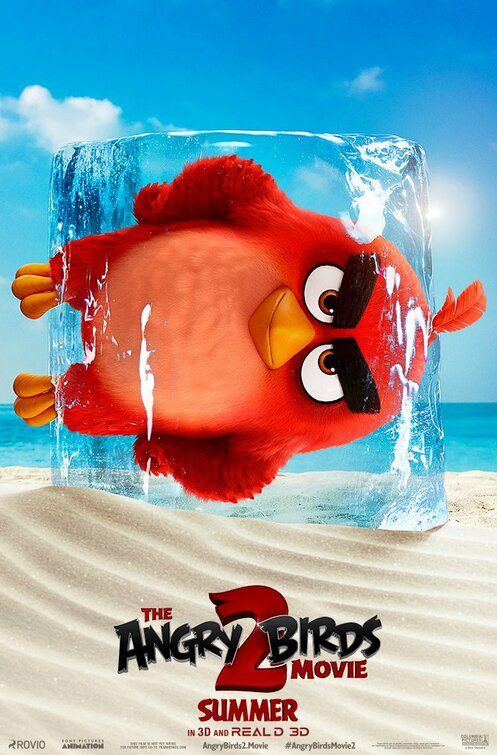 The Angry Birds 2 2019) red bird