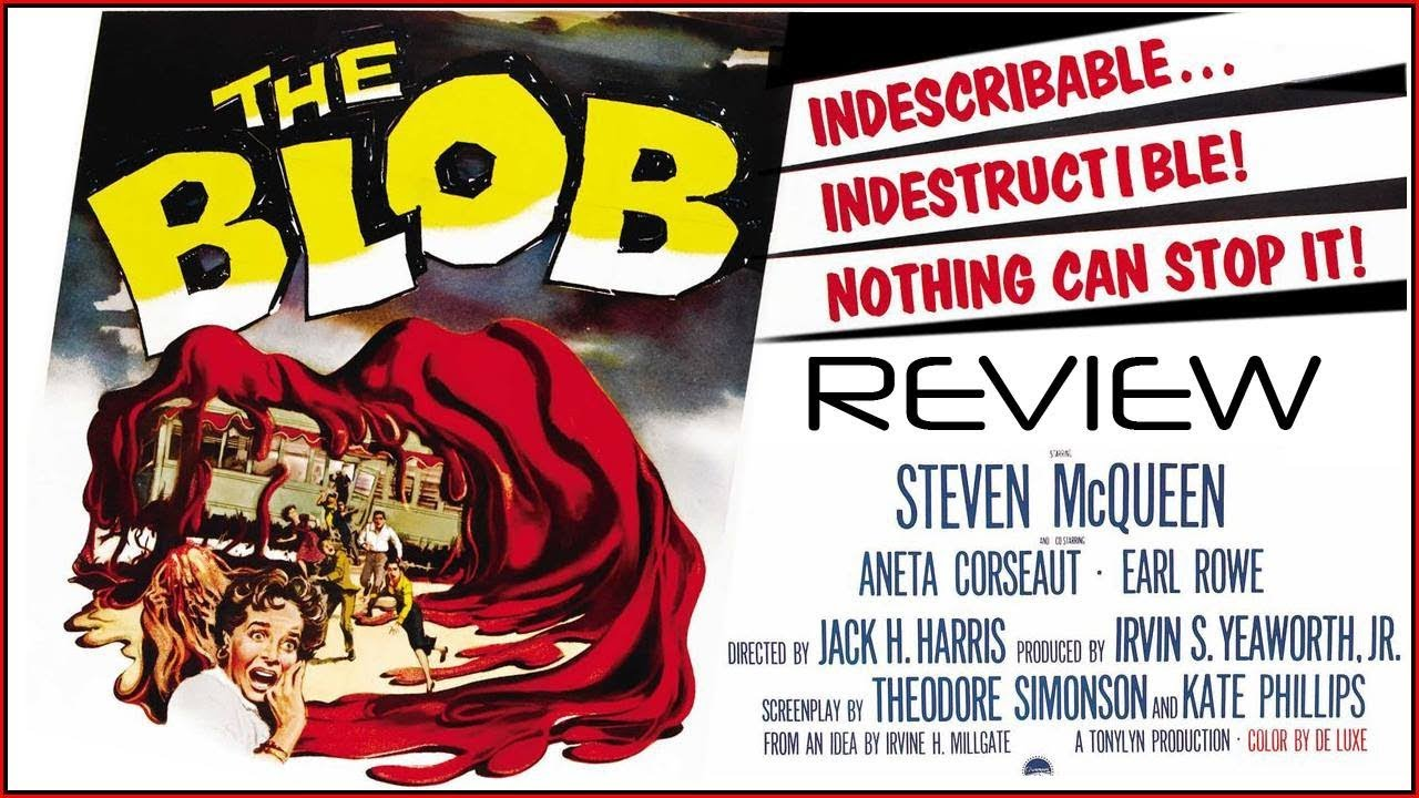 The Blob (1958) classic cult banner