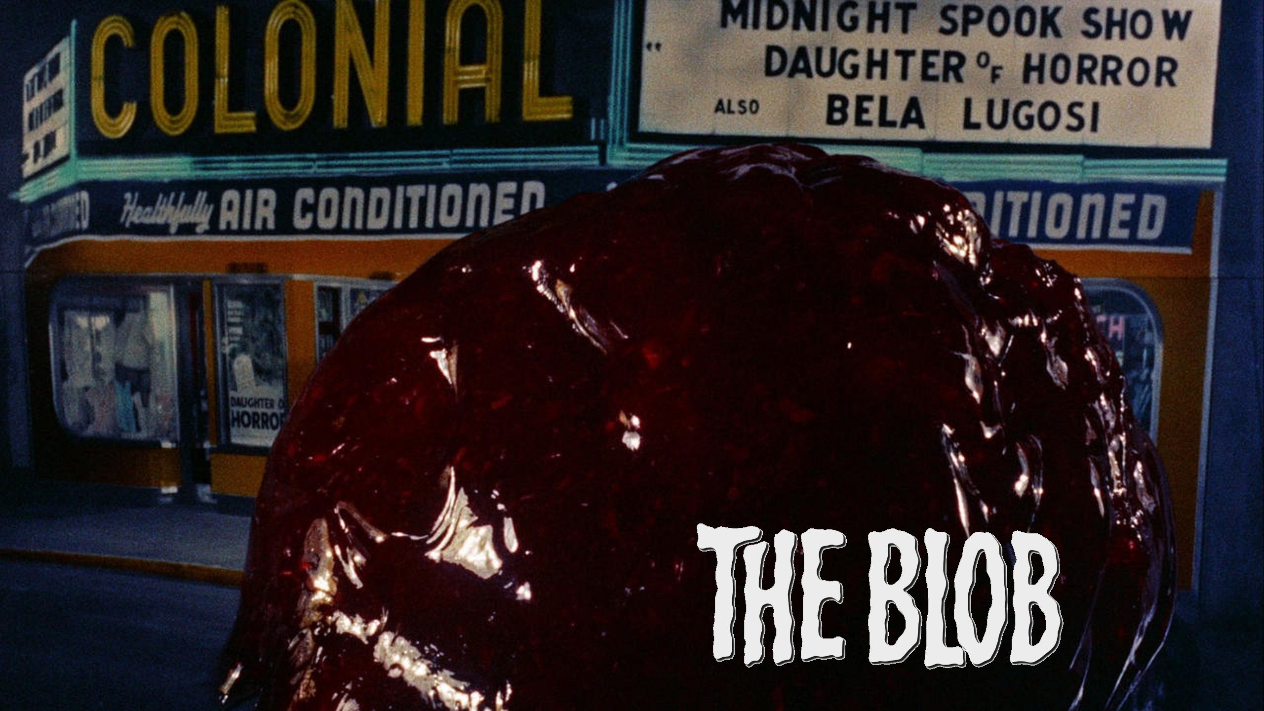 The Blob (1958) scene cinema