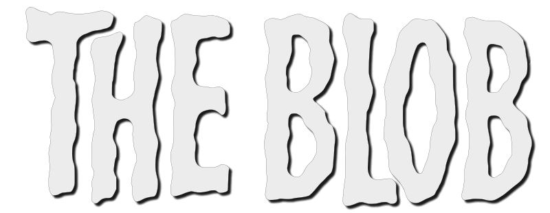 The Blob (1958) transparent logo