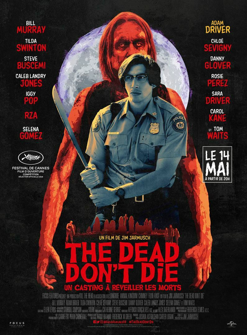 The Dead don't Die 2019 animated gif Adam Driver