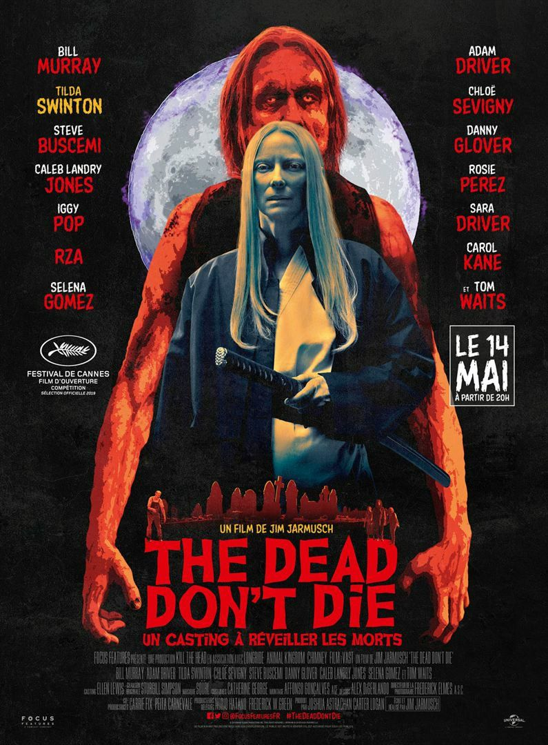 The Dead don't Die 2019 Tilda Swinton