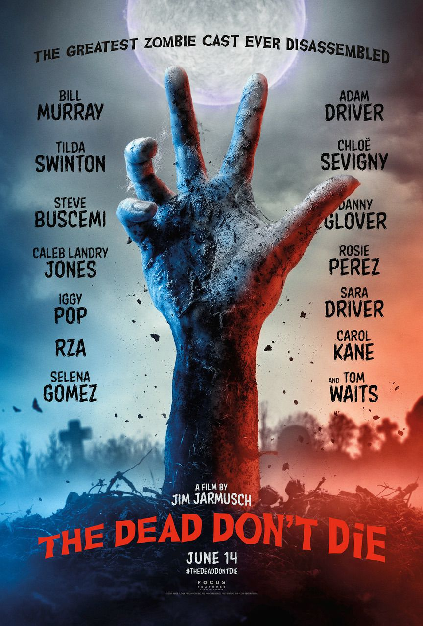 The Dead dont Die (2019) hand poster