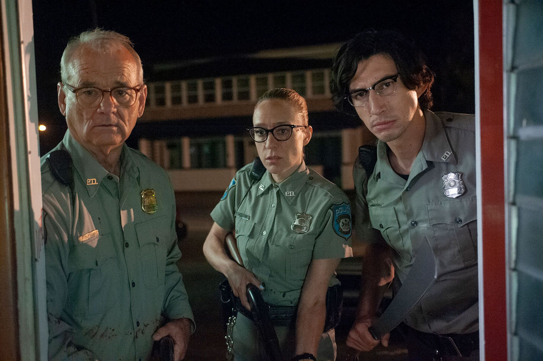 The Dead don't Die 2019 scene - Bill Murray, Adam Driver