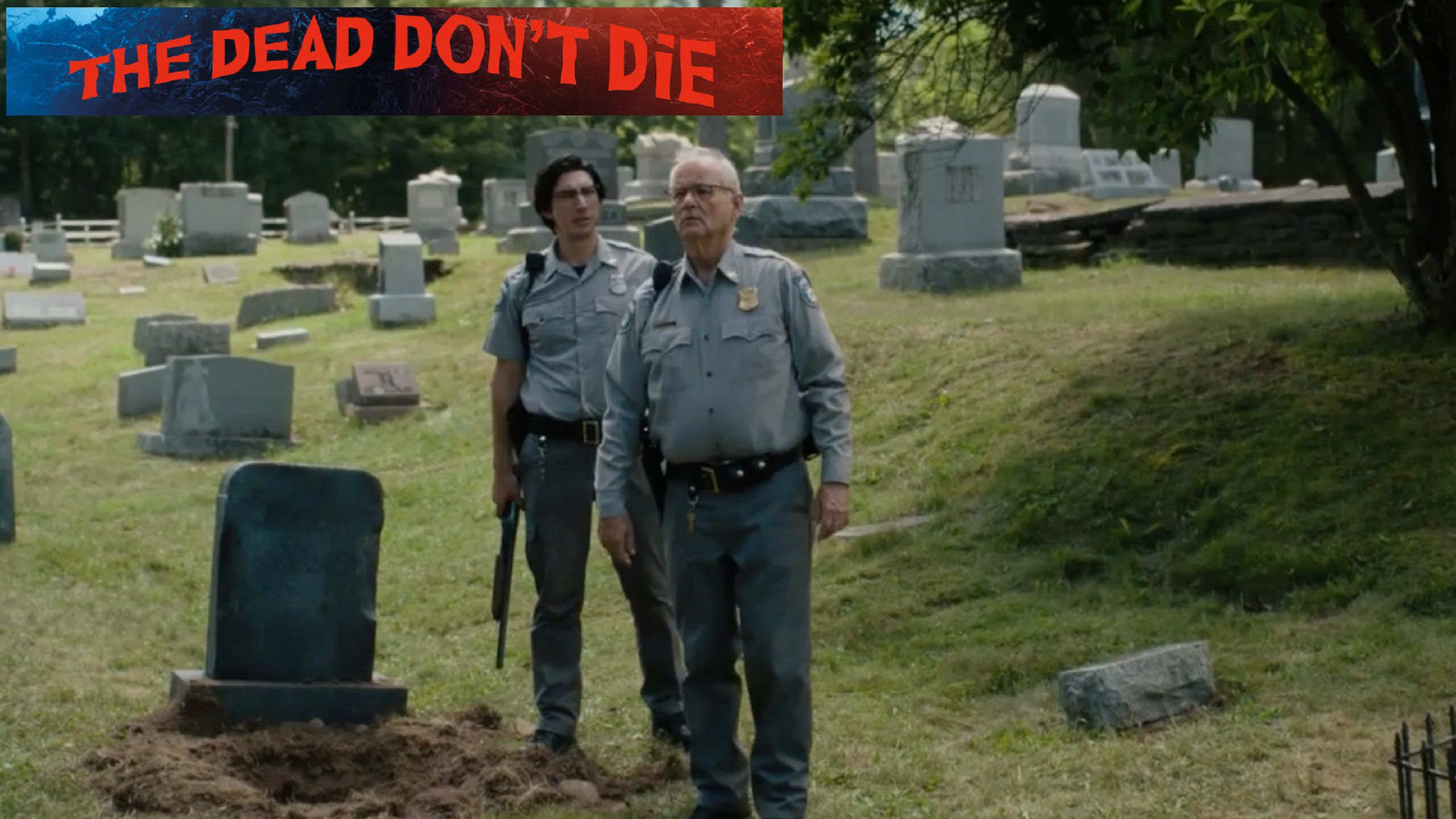 The Dead dont Die (2019) Cemetery