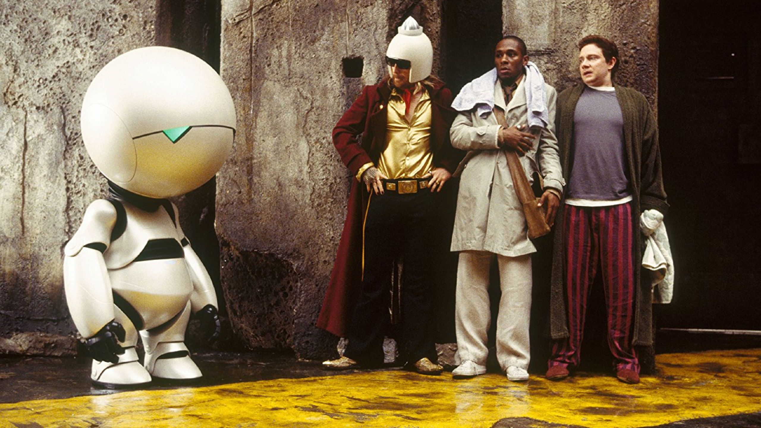 The Hitchhiker's Guide to the Galaxy best of Marvin