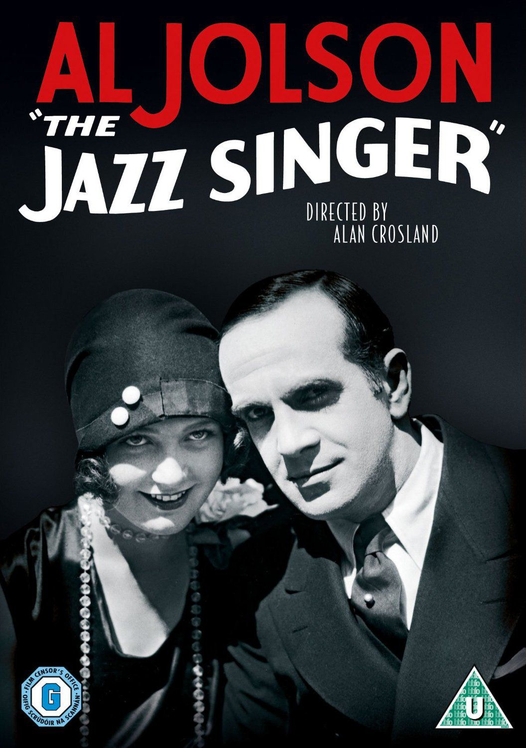 The Jazz Singer 1927 by Alan Crosland - poster