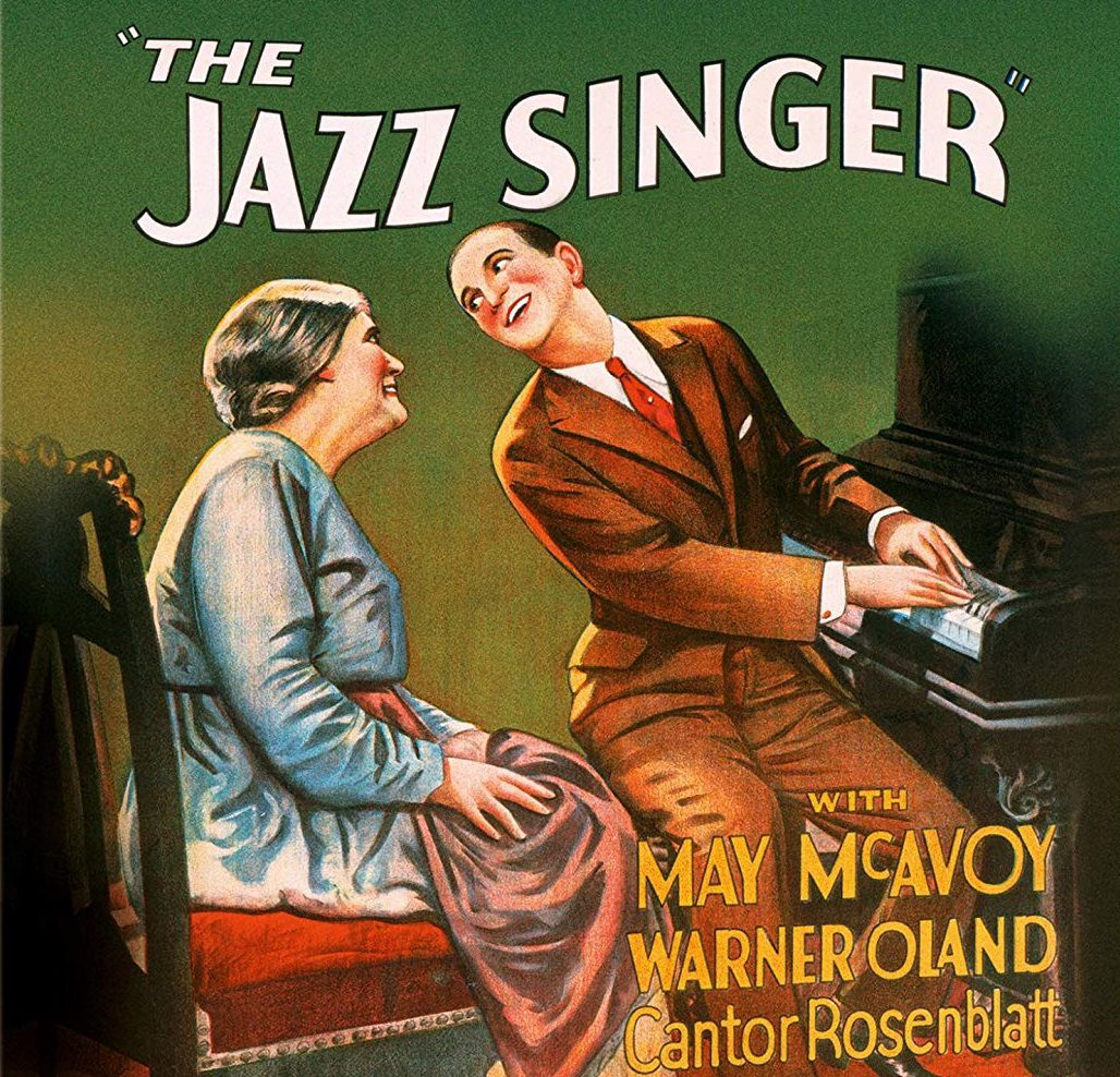 The Jazz Singer 1927 by Alan Crosland - cover