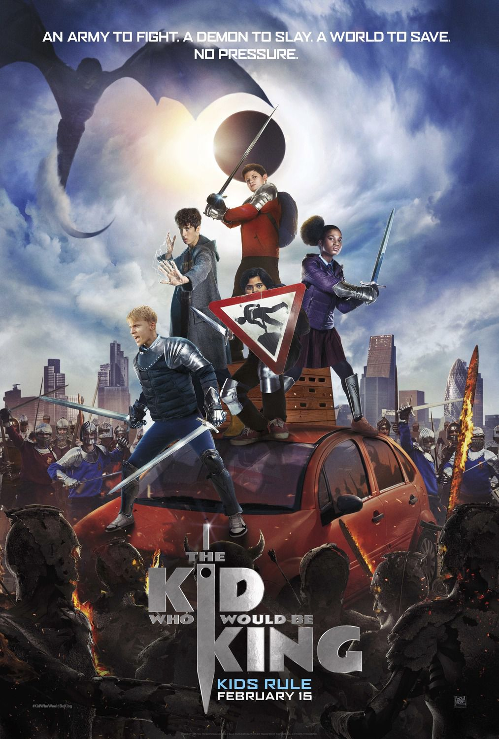 The Kid Who would be King - Il Ragazzo che diventera Re (2018)