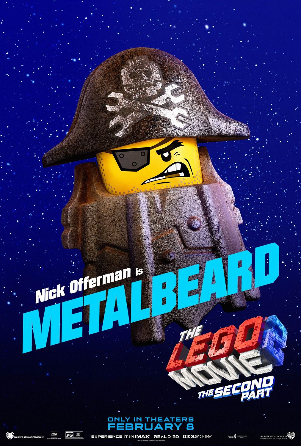 Nick Offerman is Metalbeard