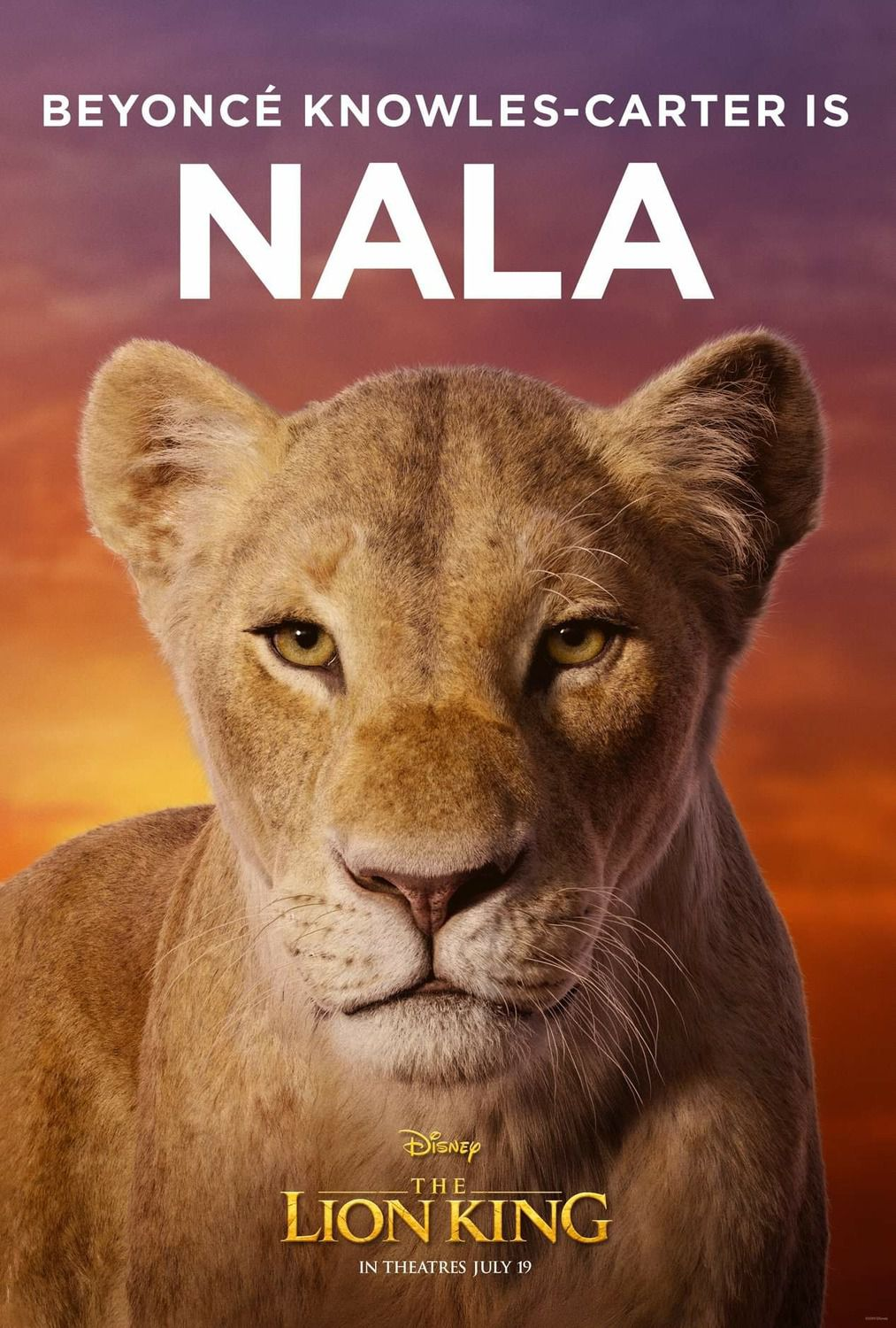 Beyonce Knowles-Carter is Nala
