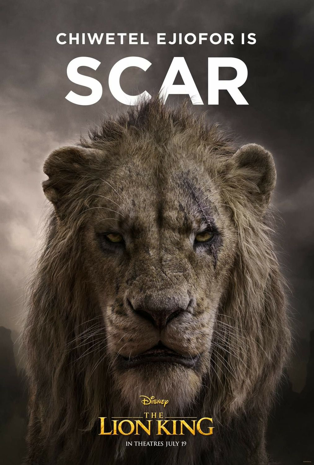Chiwetel Ejiofor is Scar